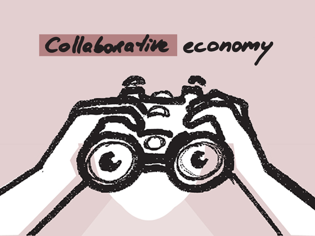 Collaborative economy illustration