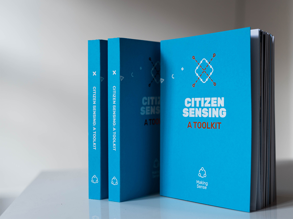 Citizen Sensing toolkit books