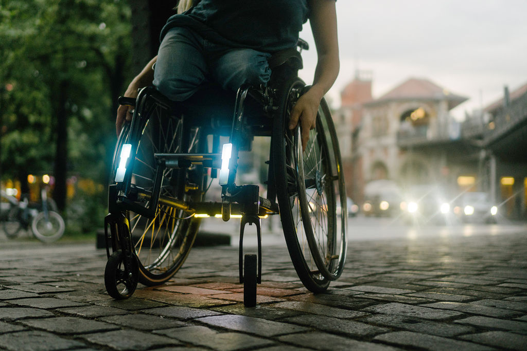 Open Lights, Made for my wheelchair