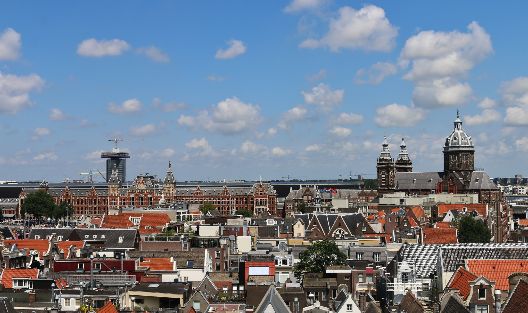 Rooftops Amsterdam