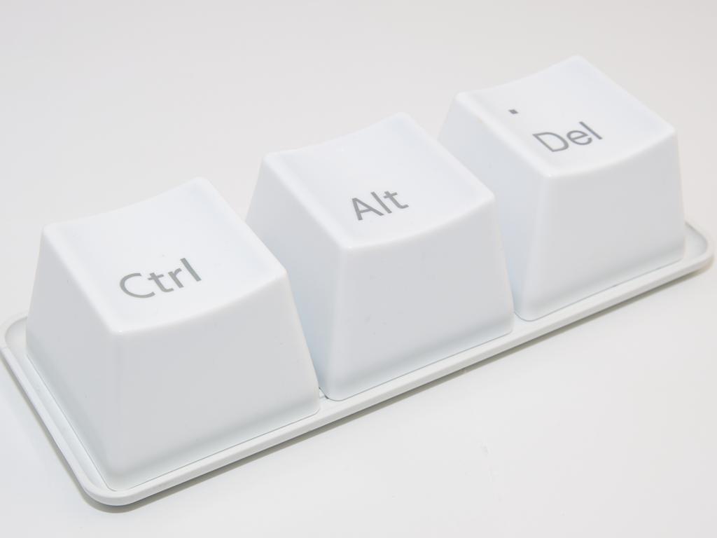 ctrl-alt-del keys keyboard