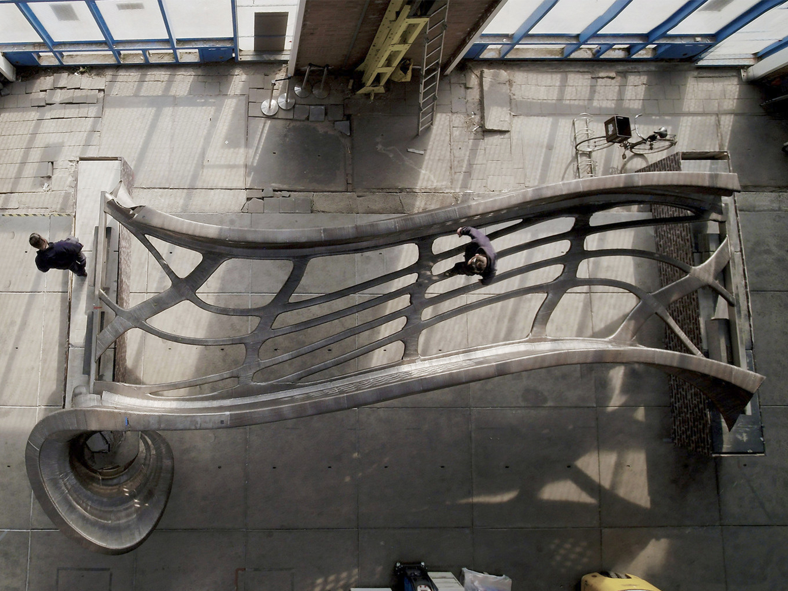 Amsterdam's 3D Printed Steel Bridge