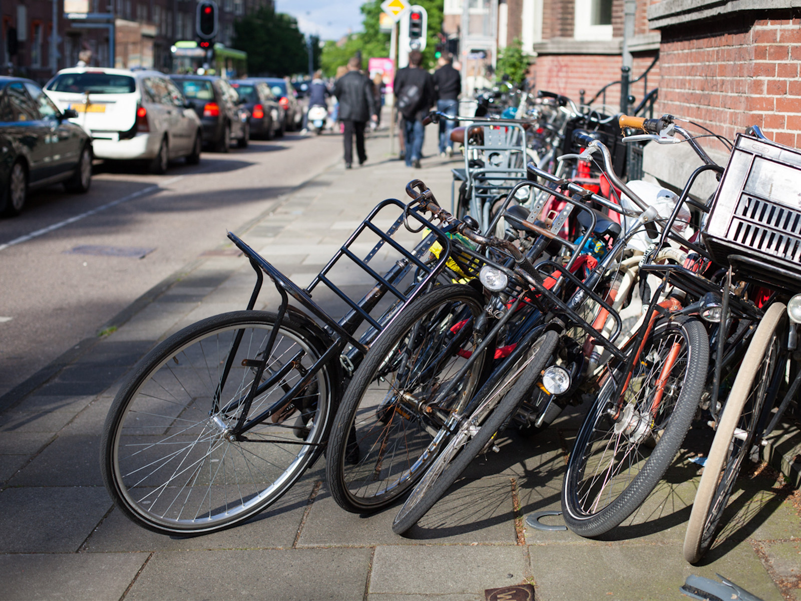 Amsterdam bicycles mobility
