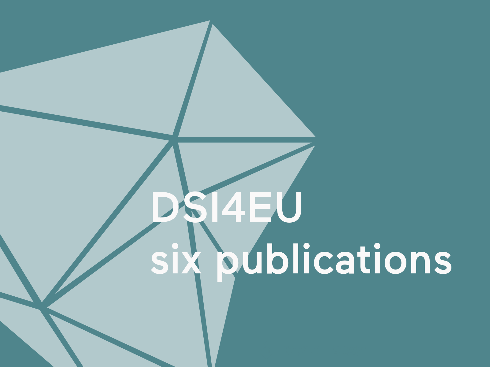 DSI4EU six publication on digital social innovation