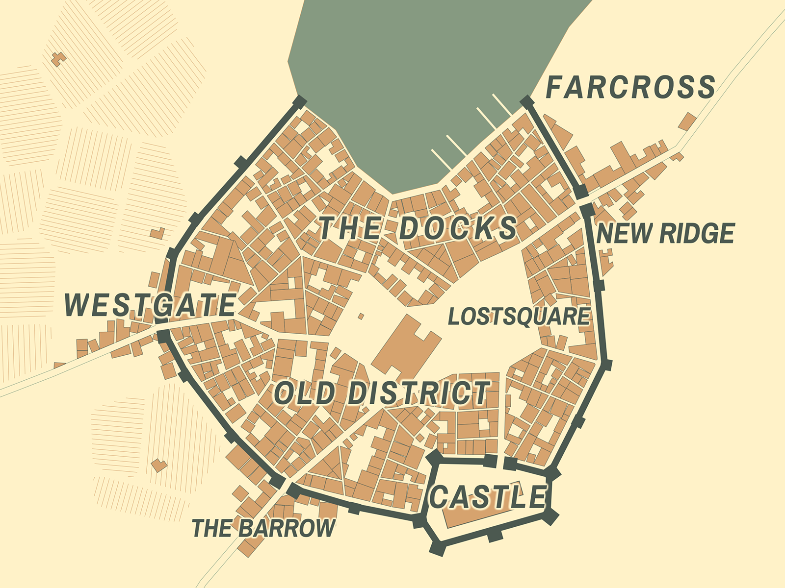 Old cities generator