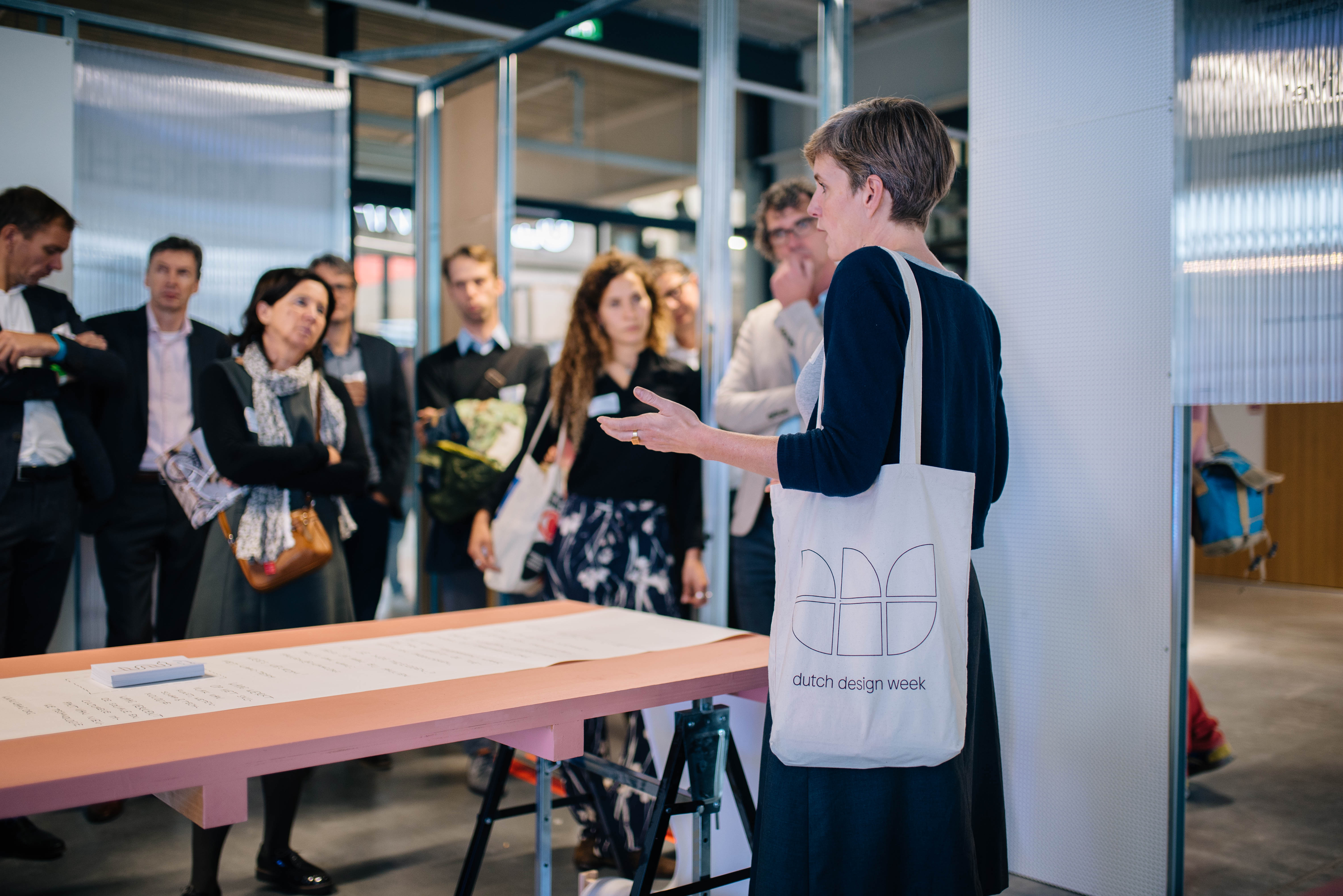 Embassy of Health, rondleiding Chronic Health, Dutch Design Week 2019