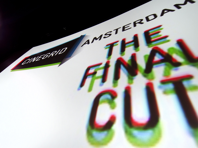 The Final Cut - CineGrid Amsterdam