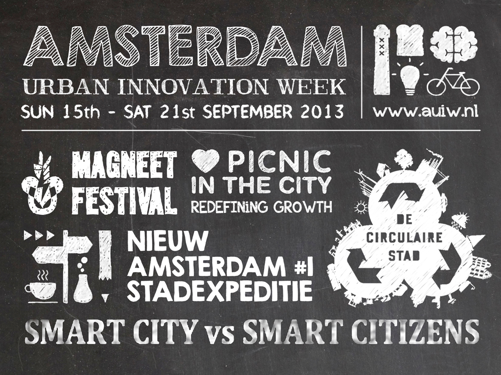 Amsterdam Urban Innovation Week