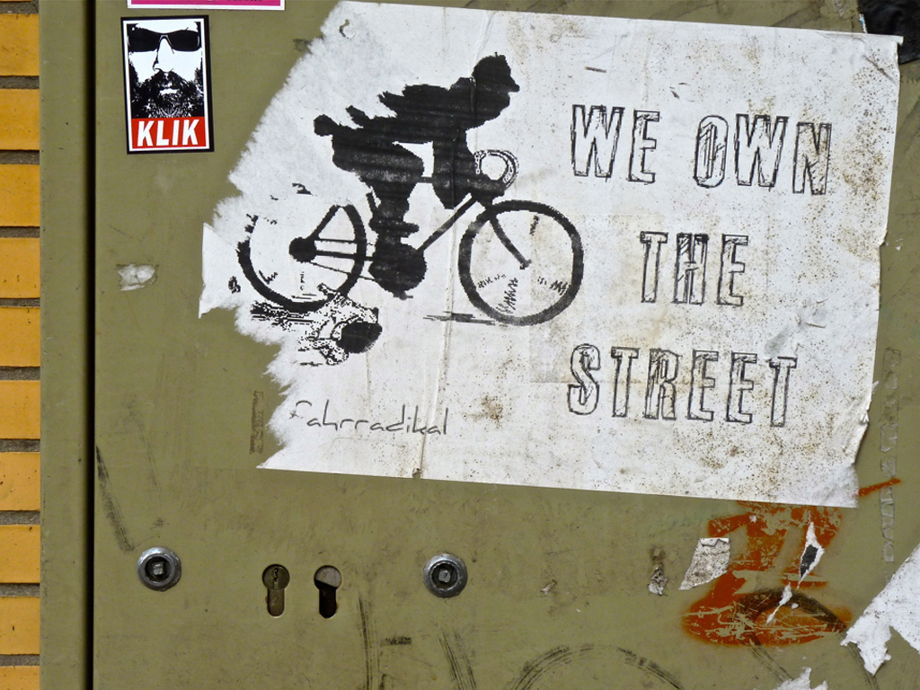 We own the street