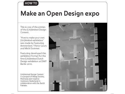 Open Design how to