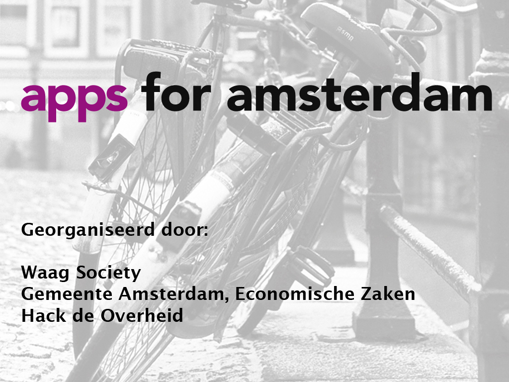 Apps for Amsterdam