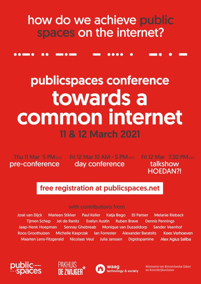 towards a common internet poster conferentie (ENG)