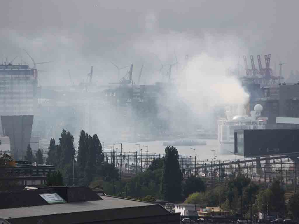 Air Pollution caused by Cruise Ship