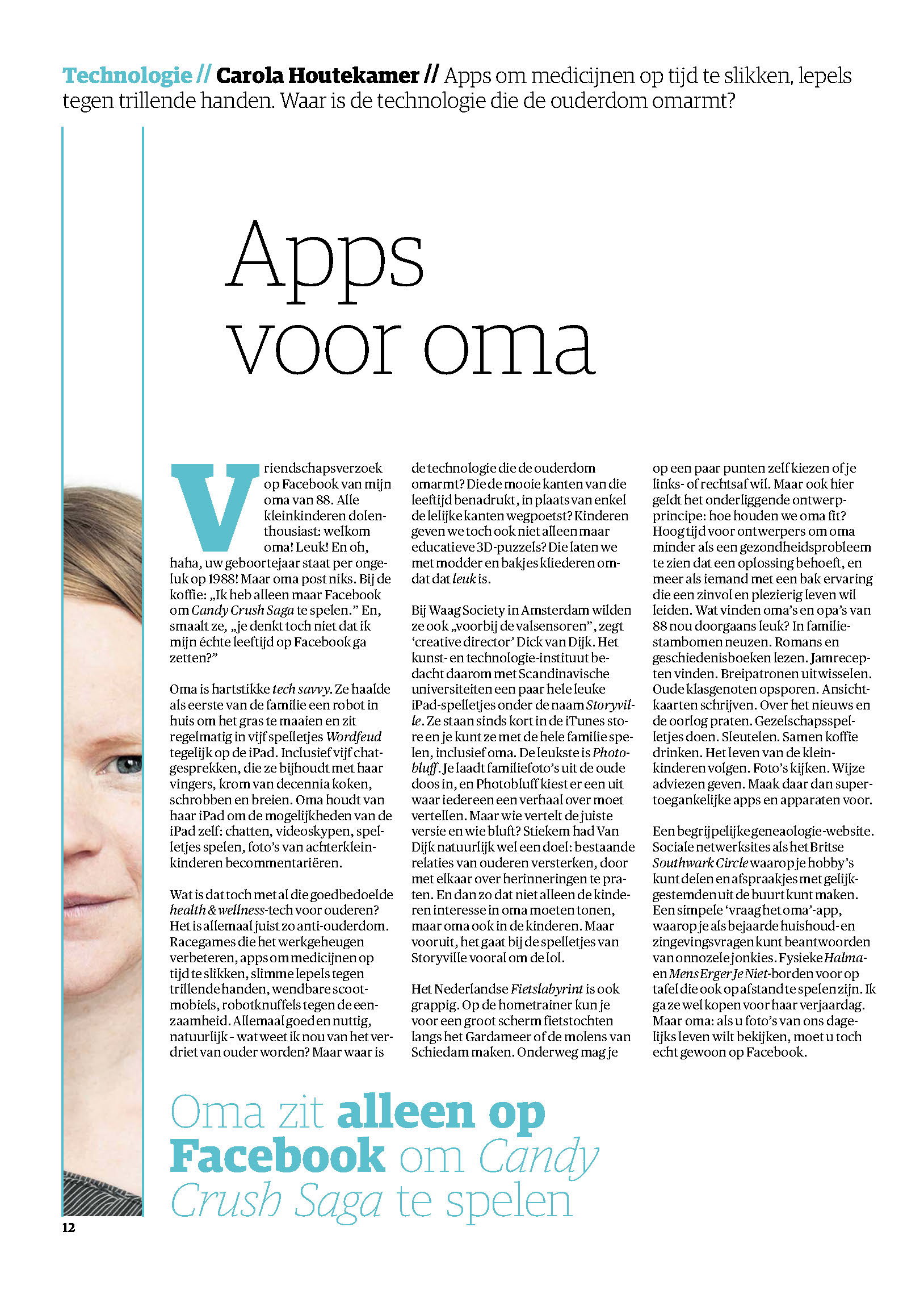 Storyville Apps voor oma
