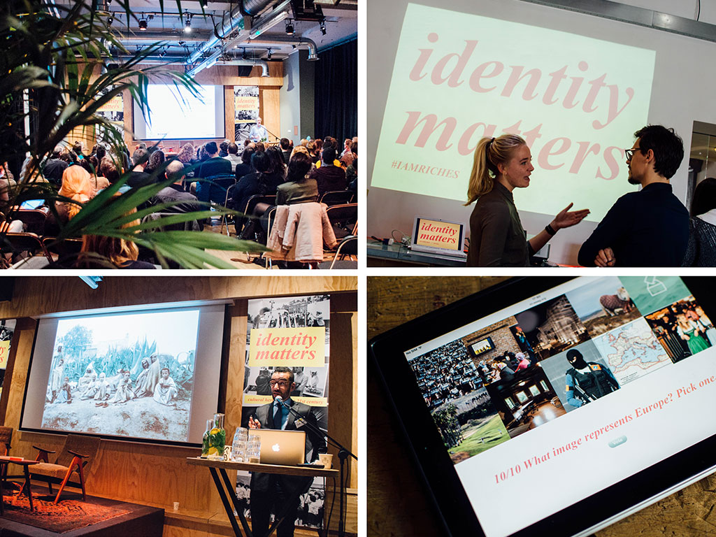 Identity Matters conference at the Volkshotel