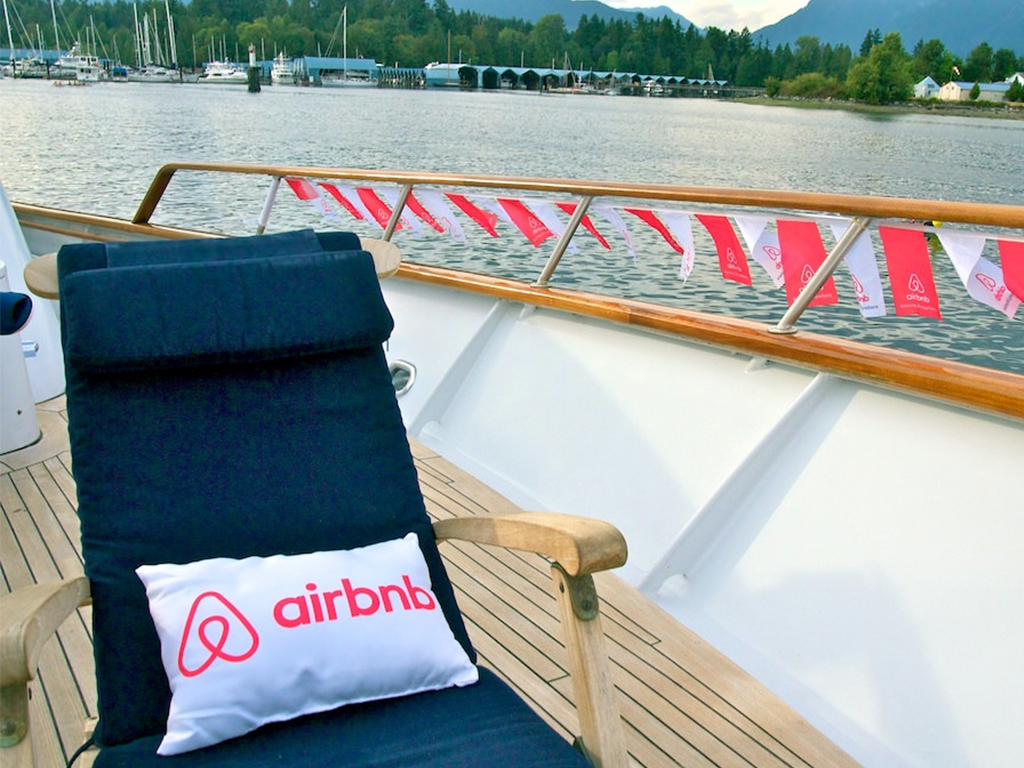 The AirBnB Yacht