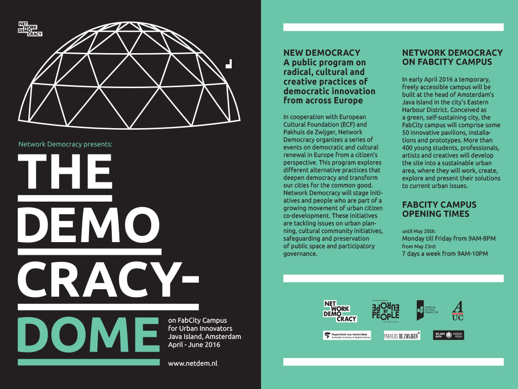Democracy Dome fabCity