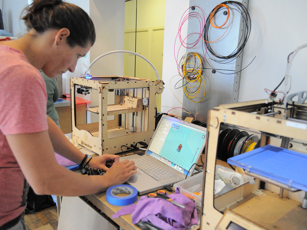 HMC Teacher Maker Camp in de Waag