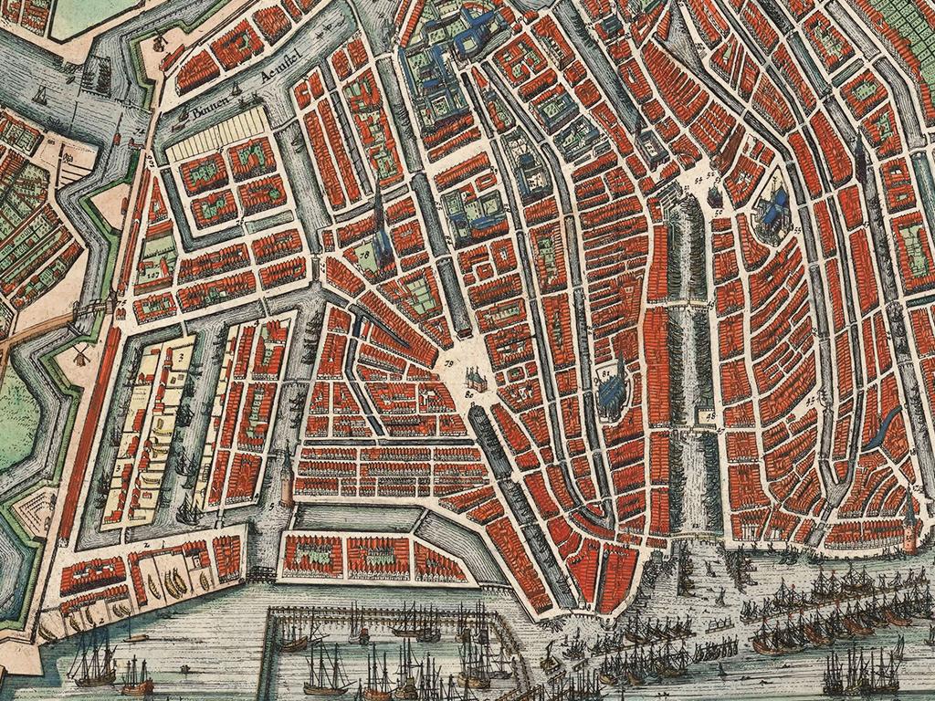 Antique map of Bohemia by Blaeu J. | Sanderus Website | 768x1024