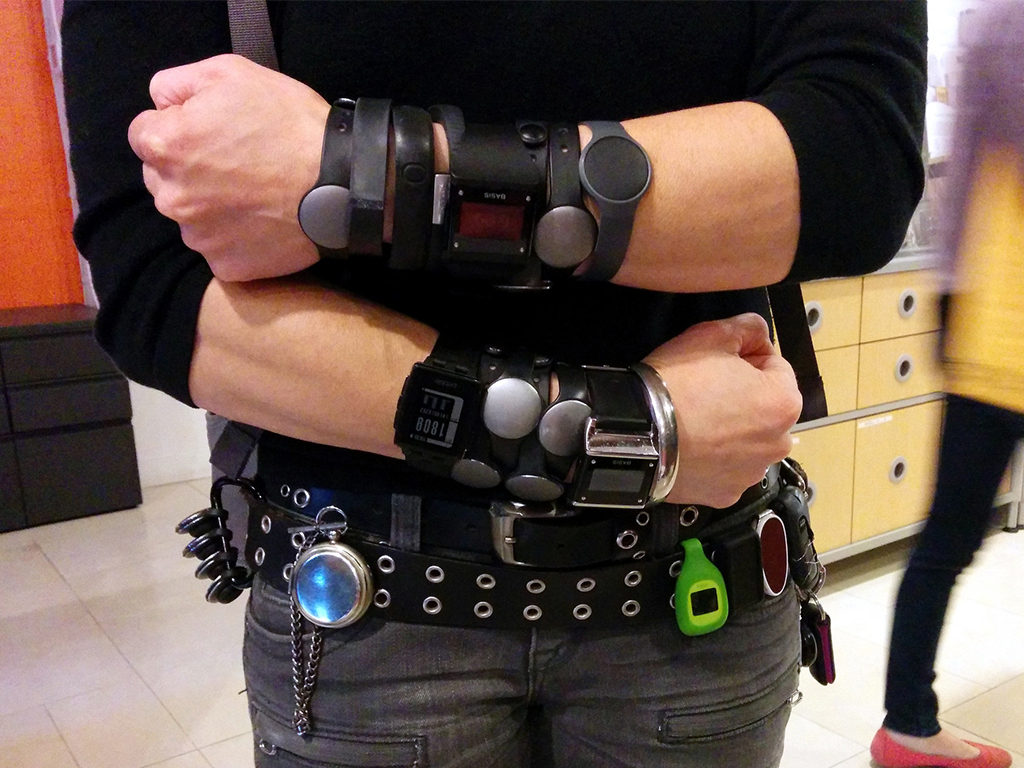 Quantified self sensor array