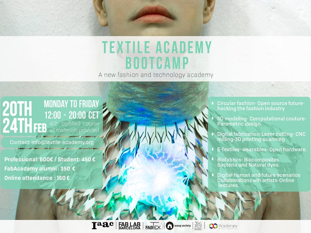 Textile Academy Bootcamp Waag
