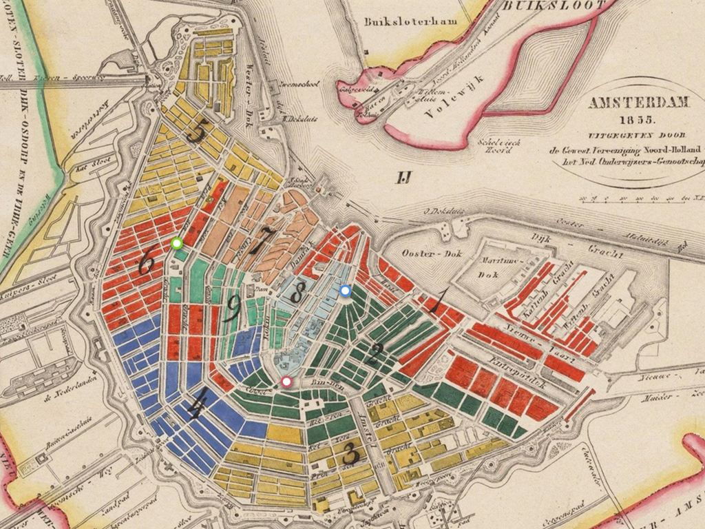 Crowdsourced maps of Amsterdam | Waag