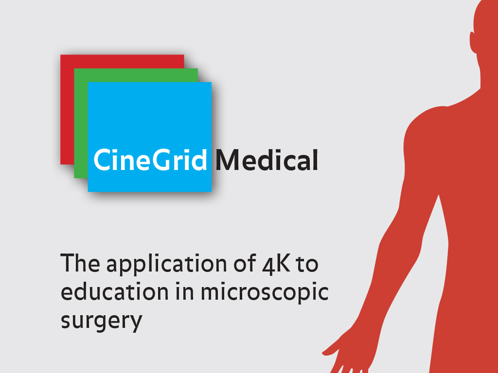 CineGrid Medical publication