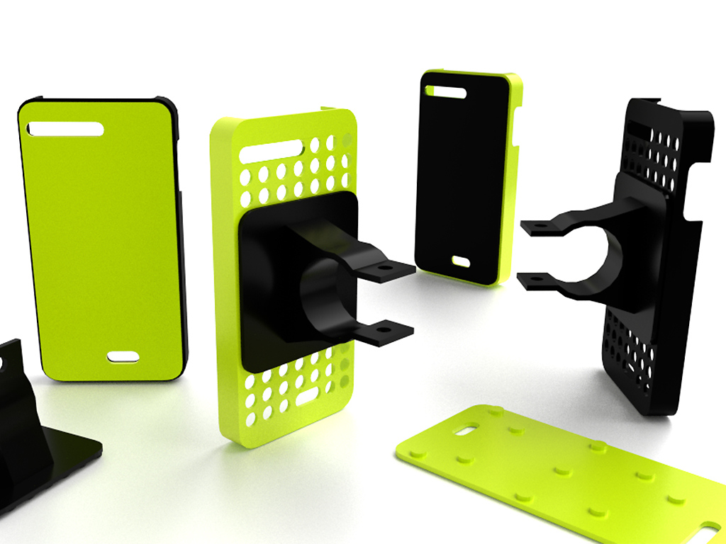 Fairphone modular bumper case + bike mount